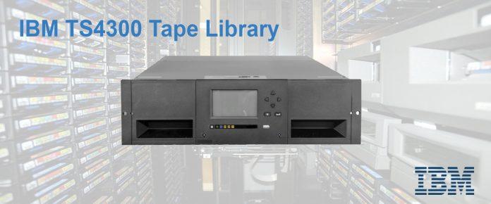 IBM TS4300 Tape Library